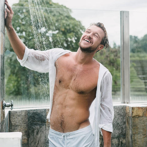 Way to Wake Up Without Caffeine - cold showers