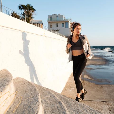 Way to Wake Up Without Caffeine - Get active and go outside