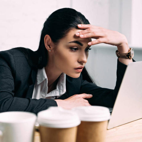 connection between coffee and anxiety