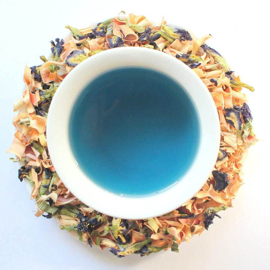 Crystal - Blue Butterfly Pea Flower Tea Life Of Cha