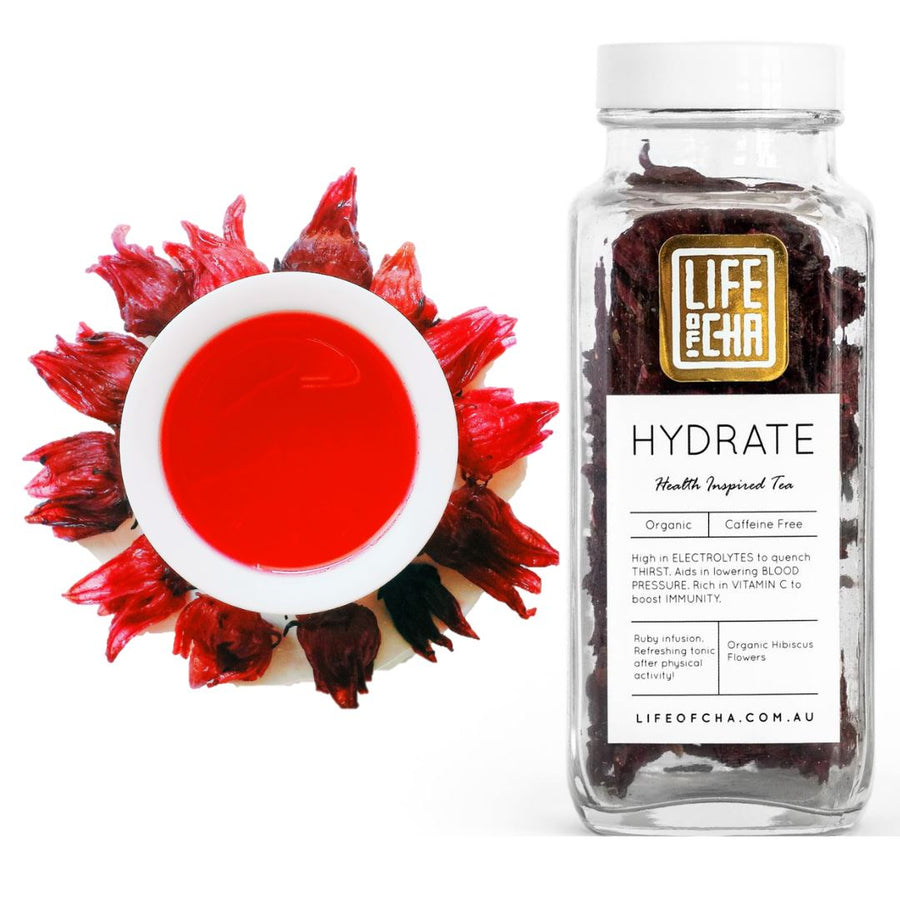HYDRATE - Whole Organic Hibiscus Tea Life Of Cha