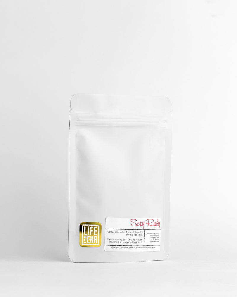 Sexy Ruby - Beetroot Rose Latte Mix 50g