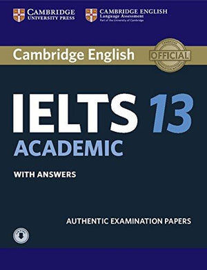 Cambridge IELTS 13 Academic Student's Book with Answers with Audio - ABC Books