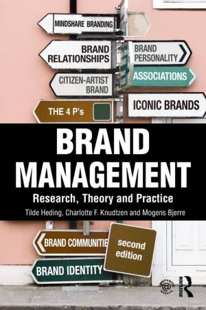 Brand Management: Research, Theory and Practice, 2e - ABC Books