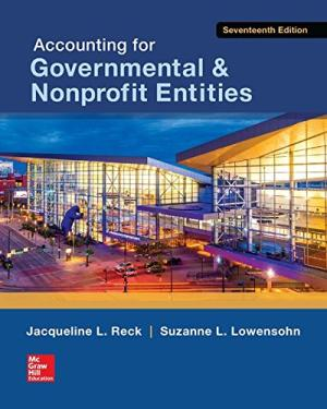 Accounting for Governmental and Nonprofit Entities 17E - ABC Books