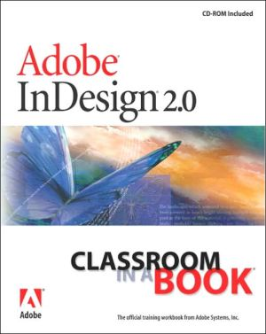 Adobe Indesign 2.0 Classroom in a Book - ABC Books