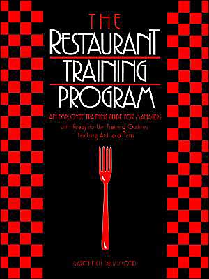 The Restaurant Training Program: An Employee Training Guide for Managers - ABC Books