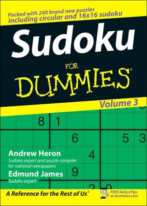 Sudoku For Dummies 3 - ABC Books
