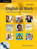 English at Work: Book with Audio CD - ABC Books