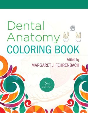 Dental Anatomy Coloring Book, 3rd Edition