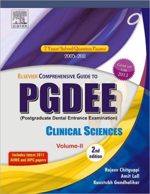Elsevier Comprehensive Guide for PGDEE (Clinical Sciences, Vol- II), 2/e - ABC Books