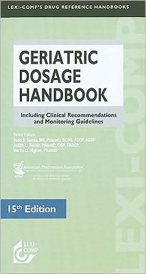 Geriatric Dosage Handbook, 15e **