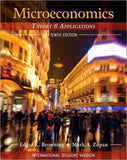 Microeconomics, International Student Version: Theory & Applications 10th Edition