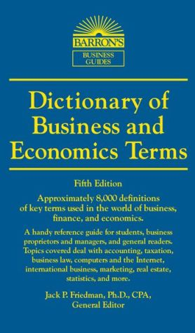 Dictionary of Business and Economics Terms - ABC Books