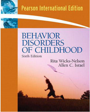 Behavior Disorders of Childhood:International Edition, 6e - ABC Books