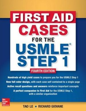First Aid Cases For The USMLE Step 1, 4e - ABC Books