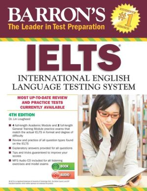 Barron's IELTS with MP3 CD, 4th Edition - ABC Books