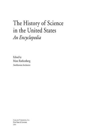 The History of Science in the United States: An Encyclopedia - ABC Books