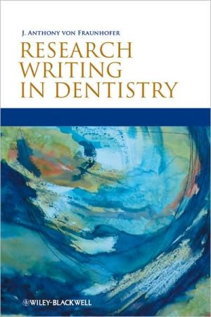 Research Writing in Dentistry - ABC Books