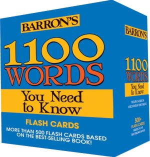 1100 Words You Need to Know Flashcards - ABC Books