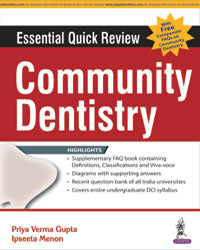 Essential Quick Review: Community Dentistry (with FREE companion FAQs on Community Dentisty) - ABC Books