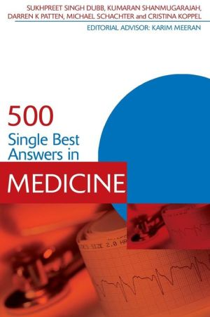 500 Single Best Answers in Medicine - ABC Books