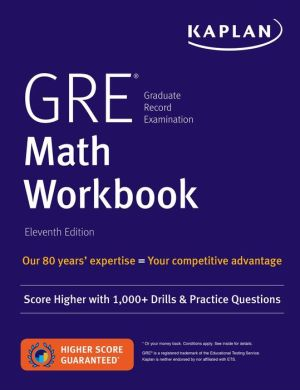 GRE Math Workbook, 11E - ABC Books