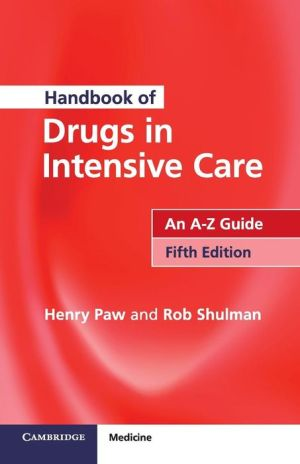Handbook of Drugs in Intensive Care - ABC Books
