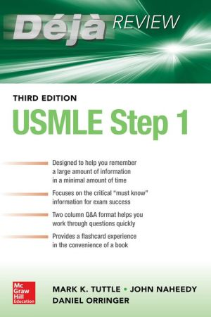 Deja Review USMLE Step 1, 3e