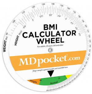 BMI Calculator Wheel - ABC Books