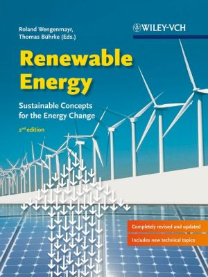 Renewable Energy: Sustainable Energy Concepts for the Energy Change, 2nd Edition - ABC Books