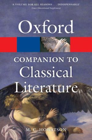 The Oxford Companion to Classical Literature 3/e - ABC Books