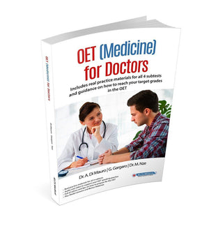 OET (Medicine) for Doctors - Complete Guide with Book & DVD - Occupational English Test GMC / For Doctors