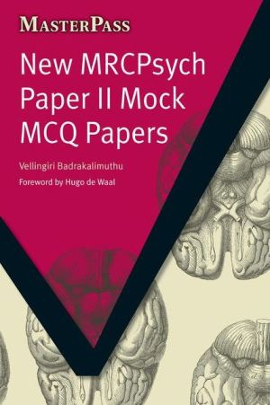 MasterPass: New MRCPsych Paper II Mock MCQ Papers - ABC Books