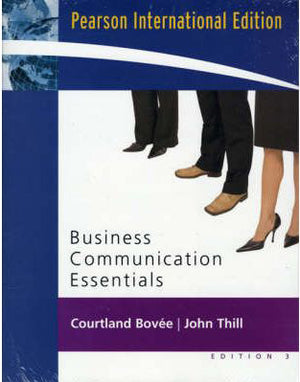 Business Communication Essentials and Peak Performance Grammar and Mechanics 2.0 CD Package:International Edition, 3e - ABC Books