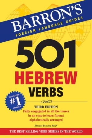 501 Hebrew Verbs - ABC Books