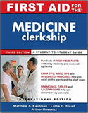 First Aid for The Medicine Clerkship, 3E - ABC Books