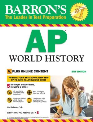 Barron's AP World History with Online Tests, 8e