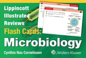 Lippincott Illustrated Reviews Flash Cards: Microbiology - ABC Books