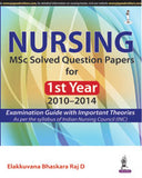 Nursing: MSC Solved Question paper for Ist year