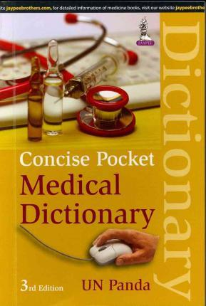 Concise Pocket Medical Dictionary 3E - ABC Books