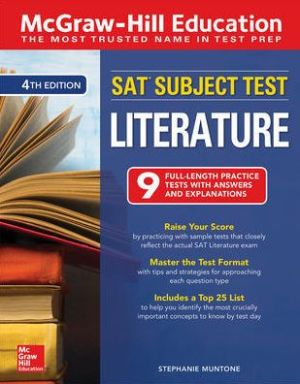 McGraw-Hill Education SAT Subject Test Literature, 4th Edition - ABC Books