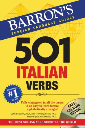 501 Italian Verbs [With CDROM] - ABC Books