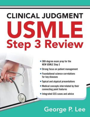 Clinical Judgment USMLE Step 3 Review - ABC Books