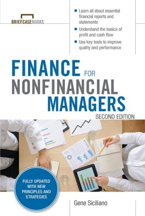 Finance for Non-Financial Managers (Briefcase Books Series) 2E