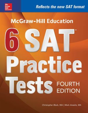 McGraw-Hill Education 6 SAT Practice Tests, Fourth Edition - ABC Books