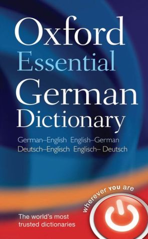 Oxford Essential German Dictionary 1/e - ABC Books