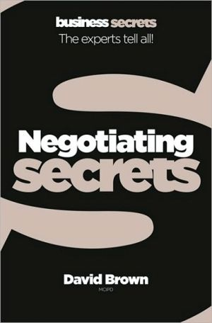 Collins Business Secrets: Negotiating - ABC Books