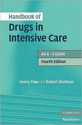 Handbook of Drugs in Intensive Care 4e - ABC Books