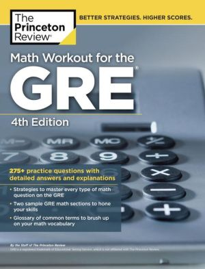 Math Workout for the GRE, 4th Edition - ABC Books